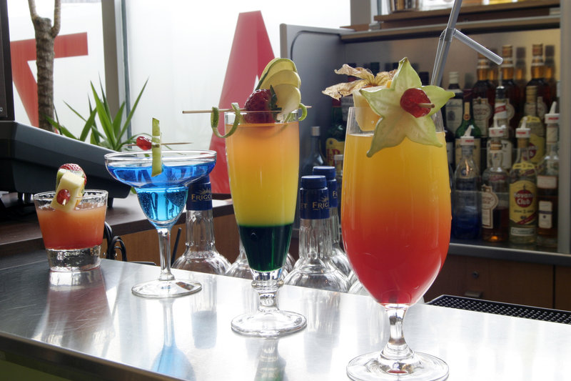 Crowne Plaza Lille - Euralille-a large choice of cocktail<br/>Image from Leonardo