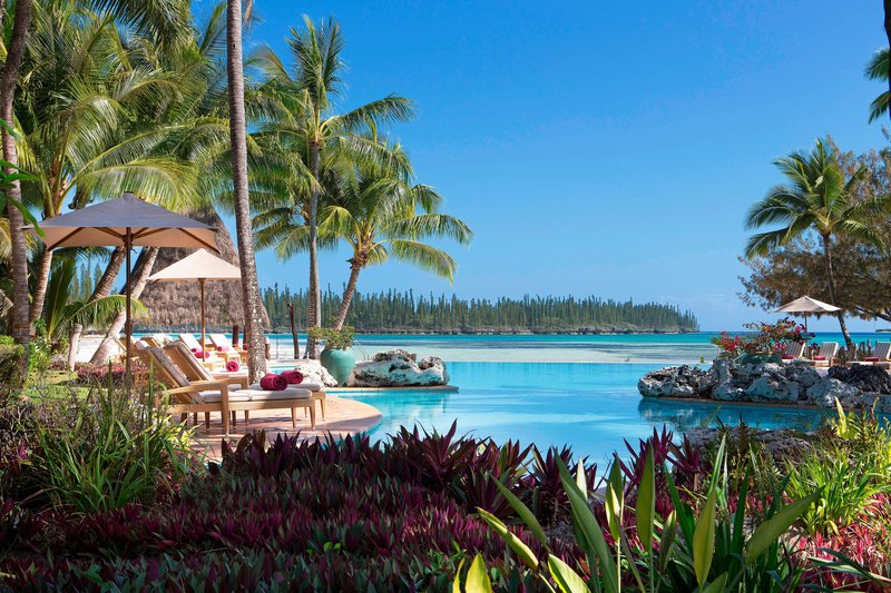 Le Meridien Ile Des Pins-Swimming Pool and Oro Bay<br/>Image from Leonardo
