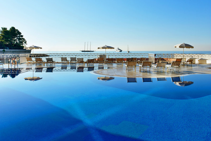 Le Meridien Beach Plaza-Outdoor Pool and Sea View<br/>Image from Leonardo