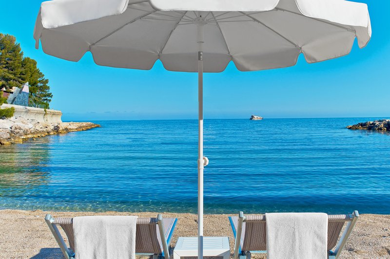 Le Meridien Beach Plaza-Private Beach<br/>Image from Leonardo