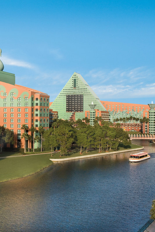 Walt Disney World Swan - Walt Disney World <br/>Image from Leonardo