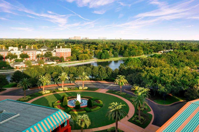 Walt Disney World Swan - Disney Resort View <br/>Image from Leonardo