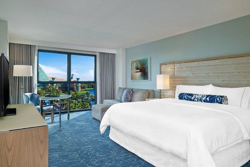 Walt Disney World Swan - Resort View Guest Room <br/>Image from Leonardo