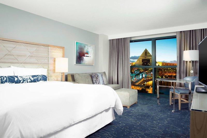 Walt Disney World Swan - King Resort View Guest Room <br/>Image from Leonardo
