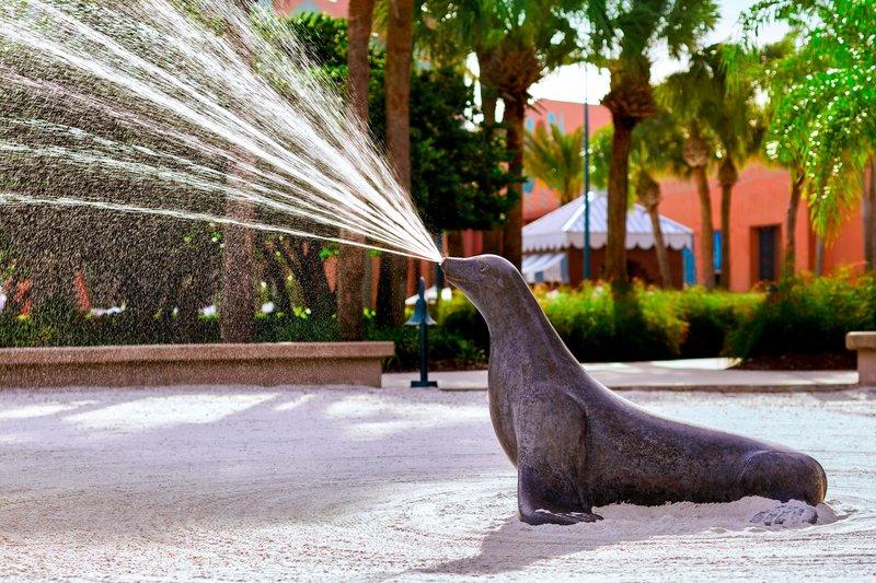 Walt Disney World Swan - Spraying Seal Pit Play Area <br/>Image from Leonardo