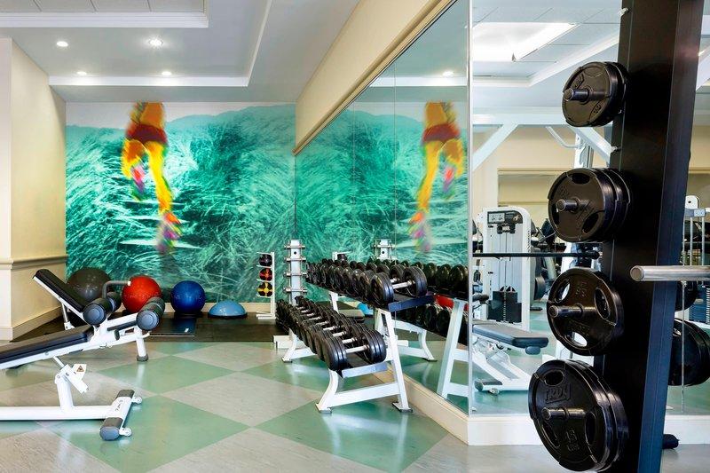 Walt Disney World Swan - WestinWorkOUT Health Club/Fitness Center <br/>Image from Leonardo