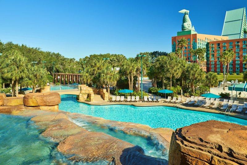 Walt Disney World Swan - Grotto Pool <br/>Image from Leonardo