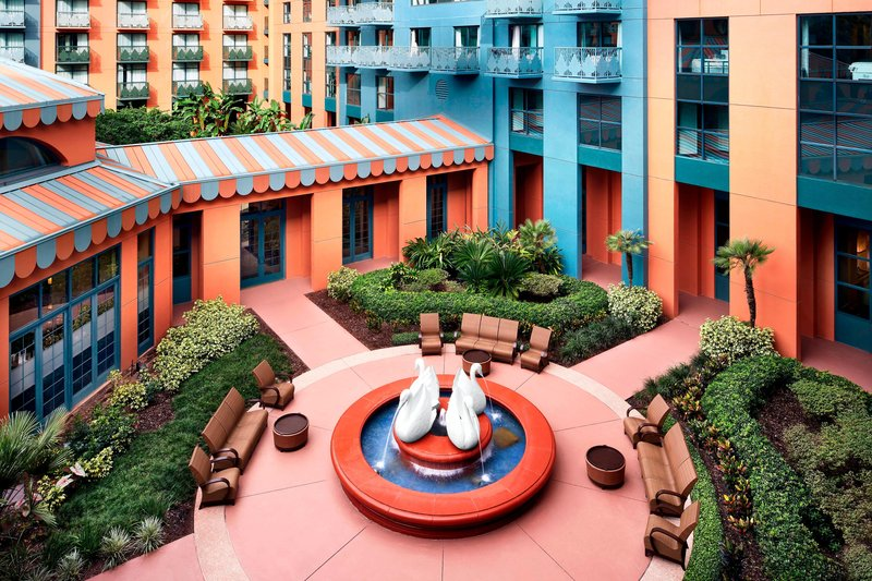 Walt Disney World Swan - Walt Disney World Swan - Courtyard <br/>Image from Leonardo
