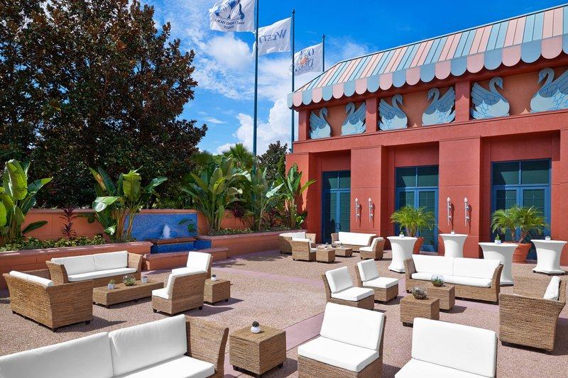 Walt Disney World Swan - Osprey Ballroom - Outdoor Terrace <br/>Image from Leonardo