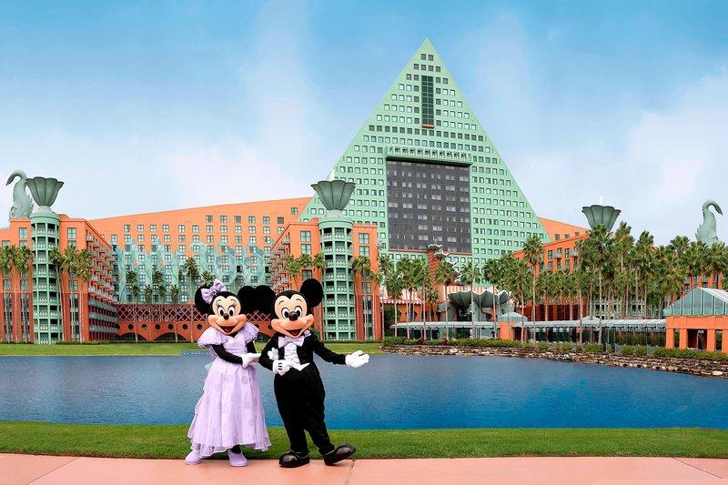 Walt Disney World Swan - Mickey and Minnie Wedding - Lake Terrace <br/>Image from Leonardo