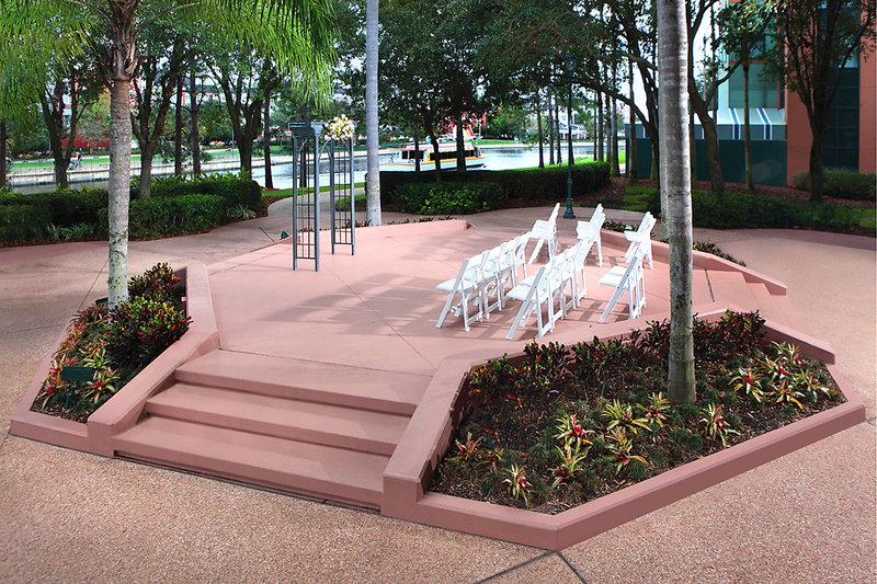 Walt Disney World Swan - Intimate Weddings - Crescent Terrace <br/>Image from Leonardo