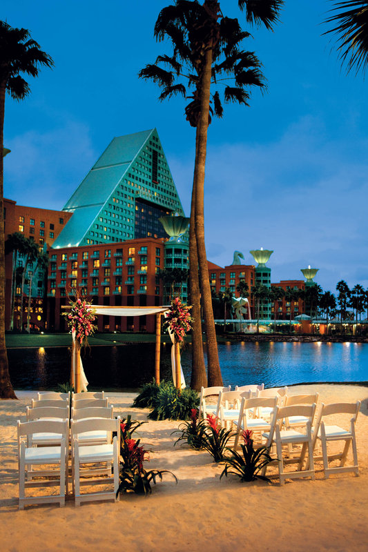 Walt Disney World Swan - Wedding Beach Terrace <br/>Image from Leonardo