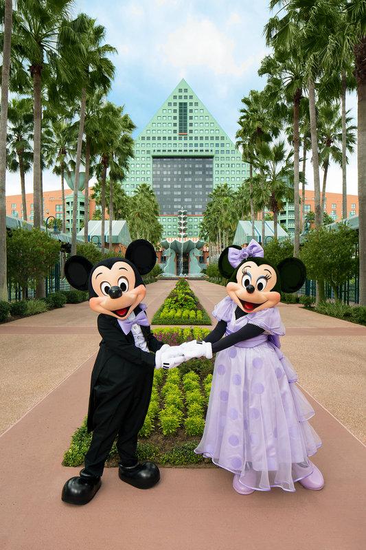 Walt Disney World Swan - Mickey and Minnie Wedding - Causeway <br/>Image from Leonardo