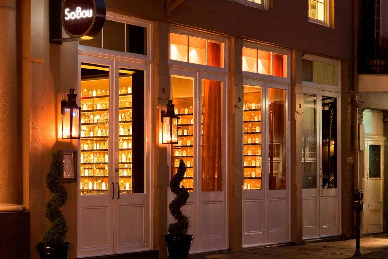 W New Orleans - French Quarter - SoBou Restaurant <br/>Image from Leonardo