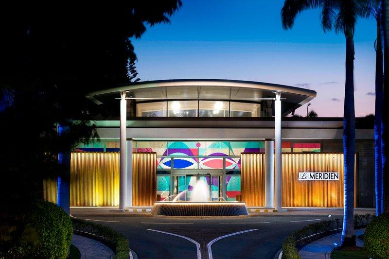 Le Meridien Noumea Resort & Spa-Hotel entrance<br/>Image from Leonardo