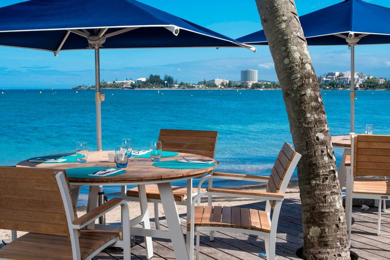 Le Meridien Noumea Resort & Spa-Le Faré Beachfront restaurant<br/>Image from Leonardo