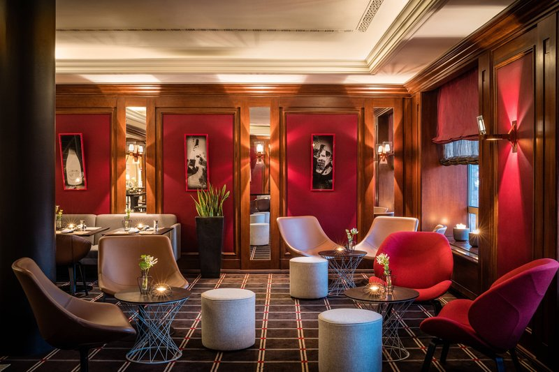 Le Meridien Stuttgart-Bar Lillet Lounge Area<br/>Image from Leonardo