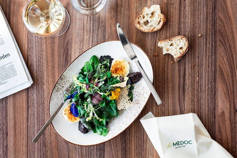 Le Meridien Stuttgart-Restaurant Kleinschmeckerei -  Salad<br/>Image from Leonardo