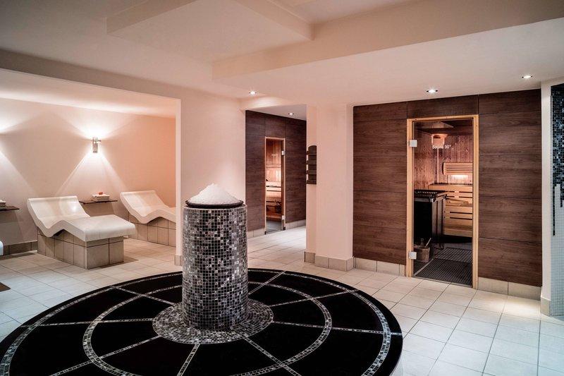 Le Meridien Stuttgart-Le Spa Sauna Area<br/>Image from Leonardo