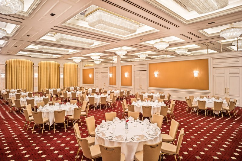 Le Meridien Stuttgart-Ballroom Elysee Banquet Setup<br/>Image from Leonardo
