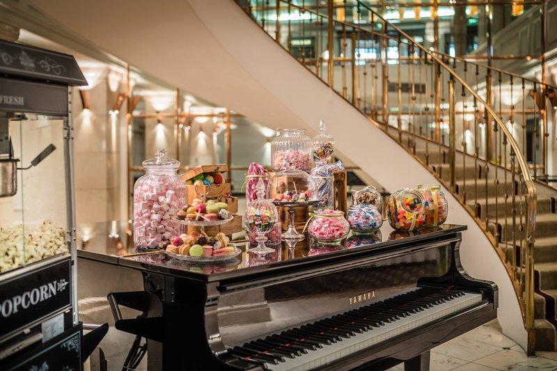 Le Meridien Stuttgart-Creative Coffee Break Candy Bar<br/>Image from Leonardo