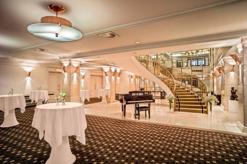 Le Meridien Stuttgart-Foyer Wedding Setup<br/>Image from Leonardo