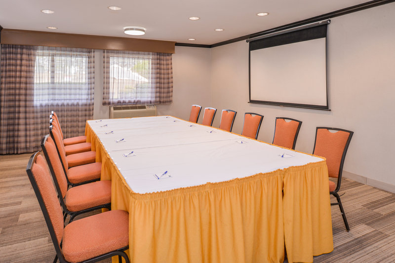 Holiday Inn Express Palm Desert-Meeting room available as needed water are always included<br/>Image from Leonardo