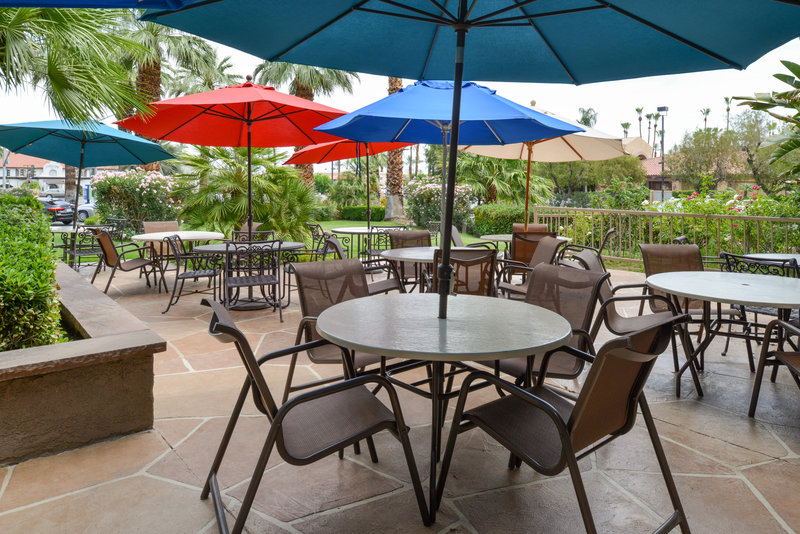 Holiday Inn Express Palm Desert-Outdoor Guest Dining<br/>Image from Leonardo