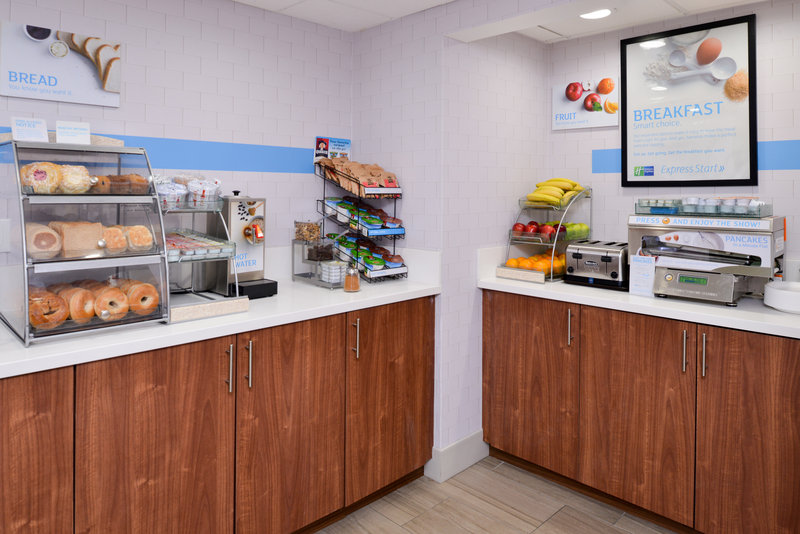 Holiday Inn Express Palm Desert-Large Assortment of Breakfast Items Available<br/>Image from Leonardo
