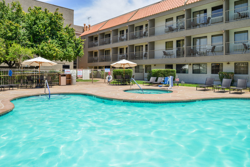 Holiday Inn Express Palm Desert-Jump In Our Sparkling Blue Pool<br/>Image from Leonardo
