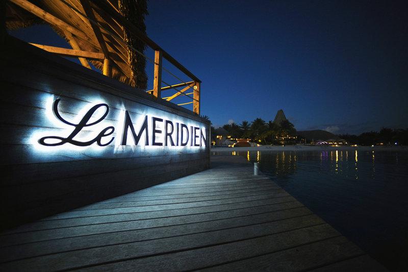 Le Meridien Bora Bora - Entrance <br/>Image from Leonardo