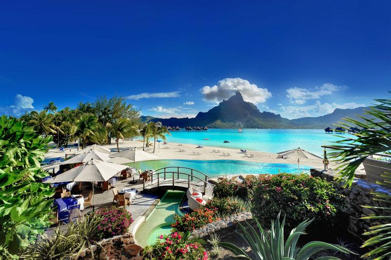 Le Meridien Bora Bora - Exterior <br/>Image from Leonardo