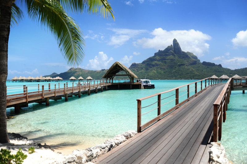 Le Meridien Bora Bora - Welcome Pontoon <br/>Image from Leonardo