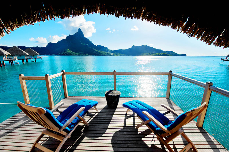 Le Meridien Bora Bora - Premium Overwater Bungalow - Terrace <br/>Image from Leonardo
