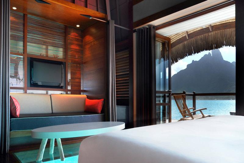Le Meridien Bora Bora - Overwater Bungalow <br/>Image from Leonardo
