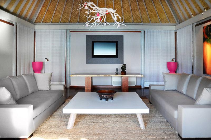 Le Meridien Bora Bora - Suite and Villa - Living Area <br/>Image from Leonardo