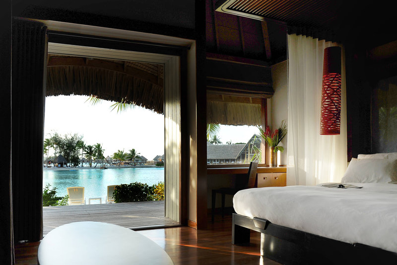Le Meridien Bora Bora - Suite and Villa - Guest Bedroom <br/>Image from Leonardo