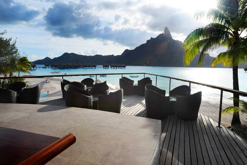 Le Meridien Bora Bora - Miki Miki Bar - Terrace <br/>Image from Leonardo
