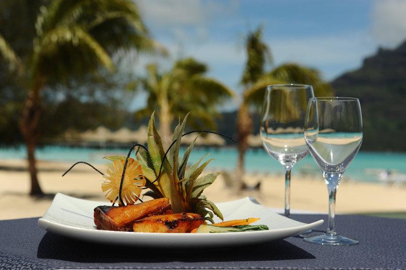 Le Meridien Bora Bora - Le Tiare / Tipanie - Food <br/>Image from Leonardo