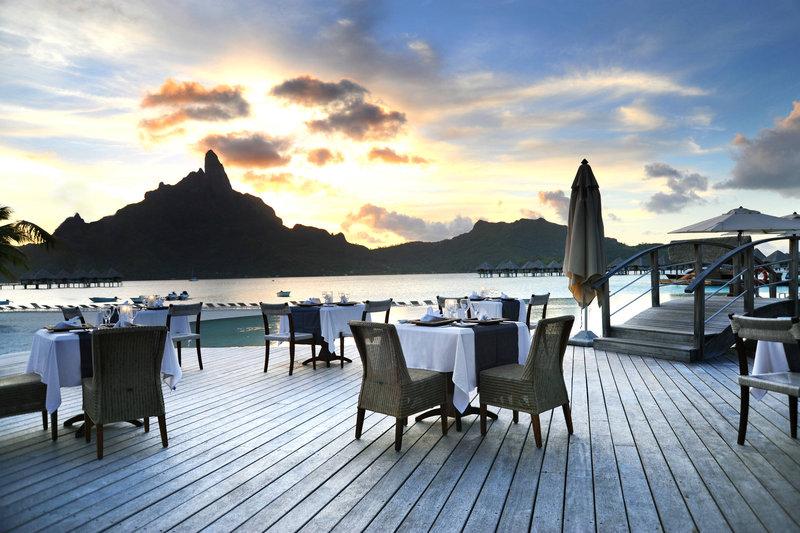 Le Meridien Bora Bora - Le Tipanie - Terrace <br/>Image from Leonardo