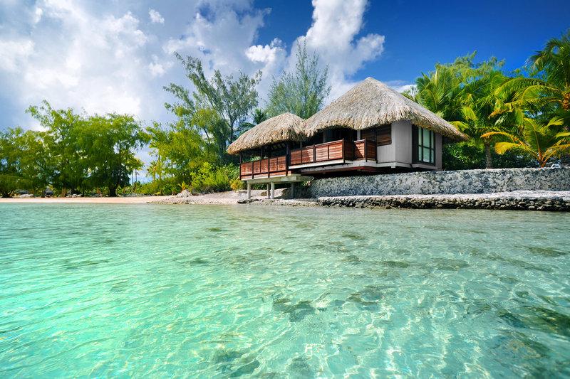 Le Meridien Bora Bora - Wellness Center Bungalow <br/>Image from Leonardo