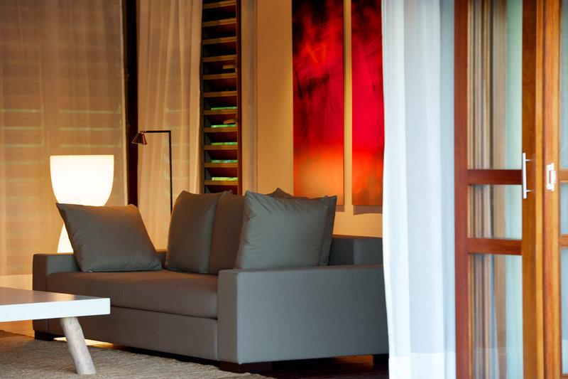 Le Meridien Bora Bora - Villa Living Area <br/>Image from Leonardo