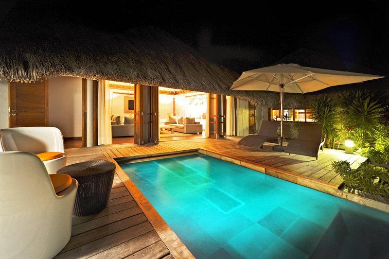Le Meridien Bora Bora - Villa Terrace <br/>Image from Leonardo