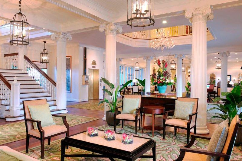 Moana Surfrider, A Westin Resort & Spa, Waikiki Beach - Lobby <br/>Image from Leonardo