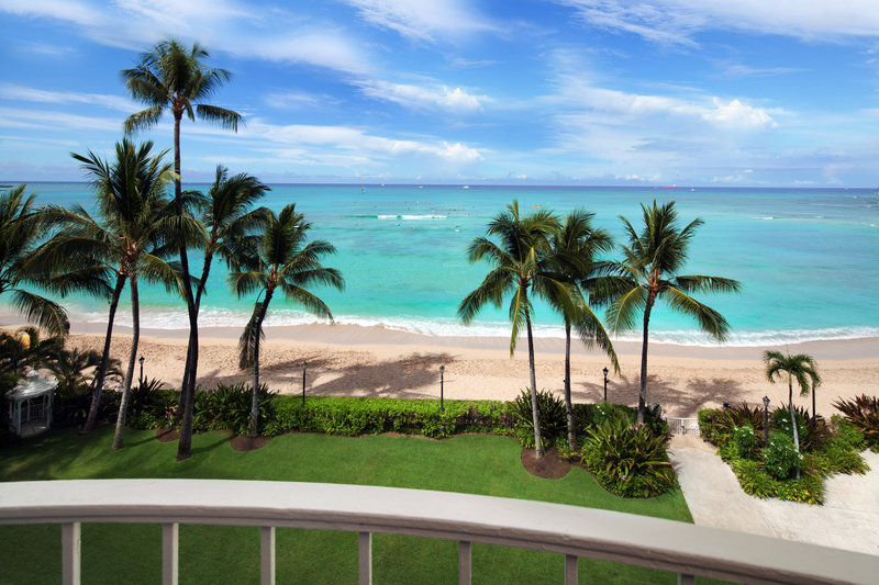 Moana Surfrider, A Westin Resort & Spa, Waikiki Beach - Diamond Ocean Front View <br/>Image from Leonardo