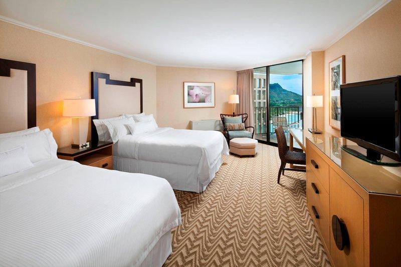 Moana Surfrider, A Westin Resort & Spa, Waikiki Beach - Tower Premier Ocean Guest Room <br/>Image from Leonardo