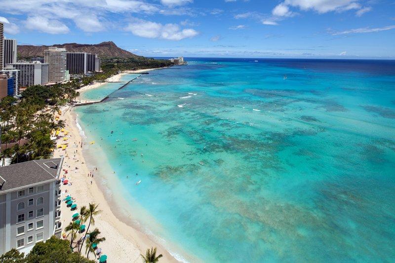Moana Surfrider, A Westin Resort & Spa, Waikiki Beach - Penthouse View <br/>Image from Leonardo