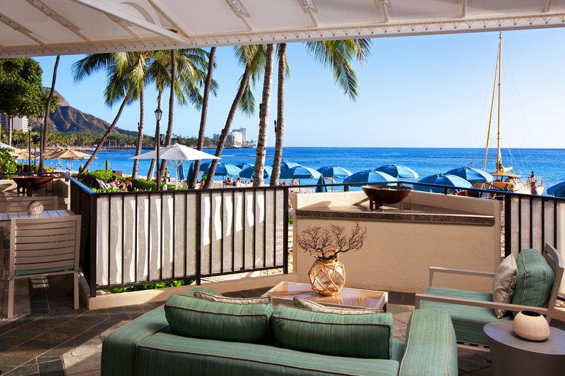 Moana Surfrider, A Westin Resort & Spa, Waikiki Beach - Beach Club <br/>Image from Leonardo