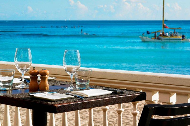 Moana Surfrider, A Westin Resort & Spa, Waikiki Beach - The Veranda at Beachhouse <br/>Image from Leonardo