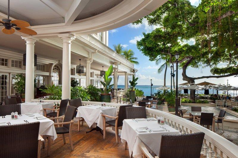 Moana Surfrider, A Westin Resort & Spa, Waikiki Beach - Veranda <br/>Image from Leonardo